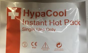 HypaCool Instant Hot Pack-single use
