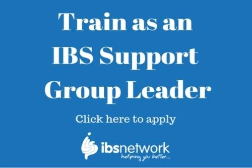 Don't miss out on your chance to train as an IBS Support Group Leader